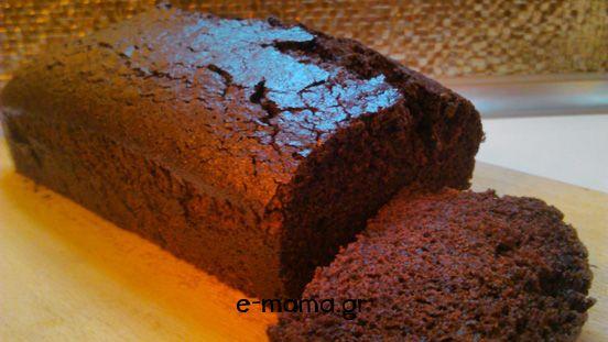 νηστίσιμο κέικ σκολάτας