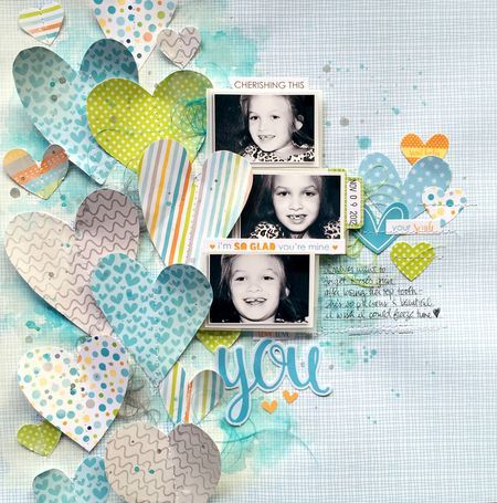 #papercrafting #scrapbooking #layouts - by Missy W.
