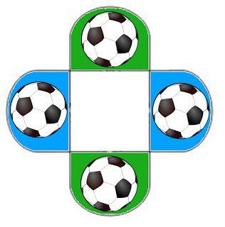Imprimibles, imágenes y cajitas de futbol 5.