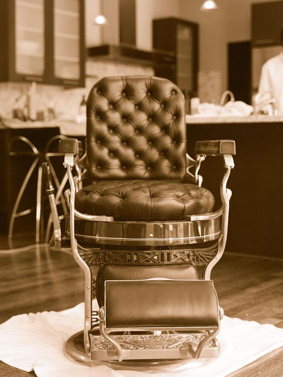 Barber Chair  ...Kissthegroom.com