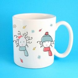 Four seasons mug.        Available in our shop: https://www.purerecords.net/product/4-seasons-mug/