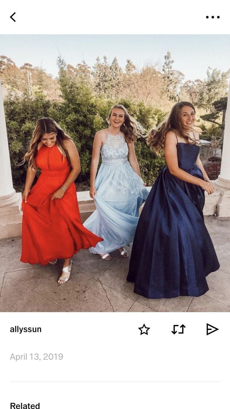 Cute VSCO best friend prom dresses and prom pictures cute grind photography #pro…