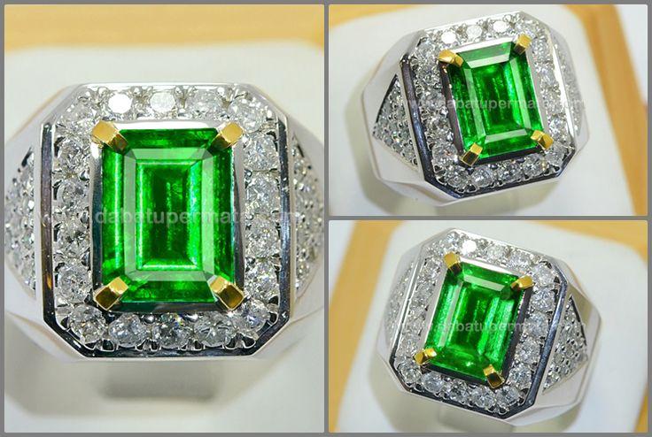 Elegant Bluish Green ZAMRUD Colombia Minor Oil. TOP - EM 072