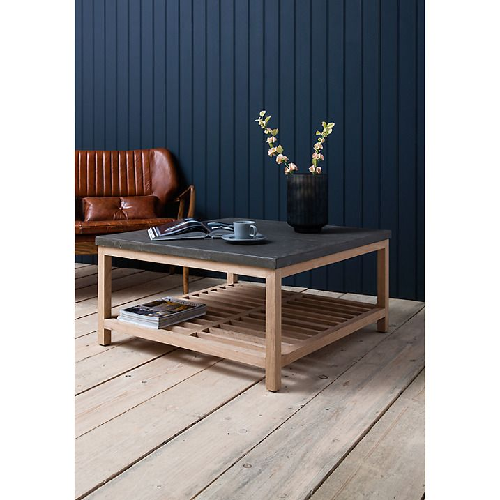 Buy Hudson Living Brooklyn Square Coffee Table Online At Johnlewis