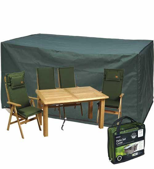 Κάλυμμα τραπεζαρίας βαρέως τύπου. Ανθεκτικό στο νερό κάλυμμα βαρέως τύπου.Σκεπάζει καρέκλες και τραπέζι μαζί.