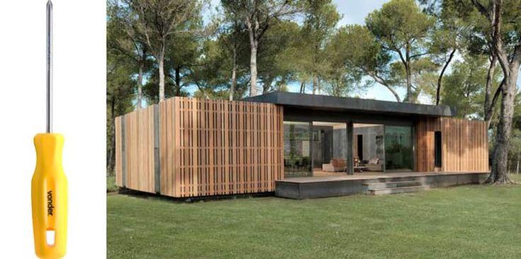 Empresa cria casa que pode ser construída em 4 dias usando apenas uma chave de fenda