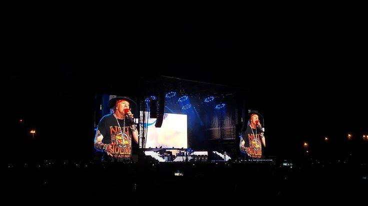 Guns N' Roses - Not In This Lifetime Tour LIVE at Letňany Airport Prague  #prague #GunsNRoses @gunsnroses #live #concert #show #notinthislifetime #axlrose #slash #tour #music #rocknroll #hardrock #letnany #airport #letnanyairport #night #NightInTheCity #city #galaxys6