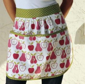 apron instructions and pattern:D