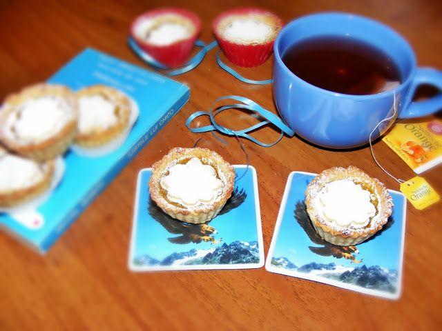Ce a mai gatit Timea...: Cosulete cu mar si portocala