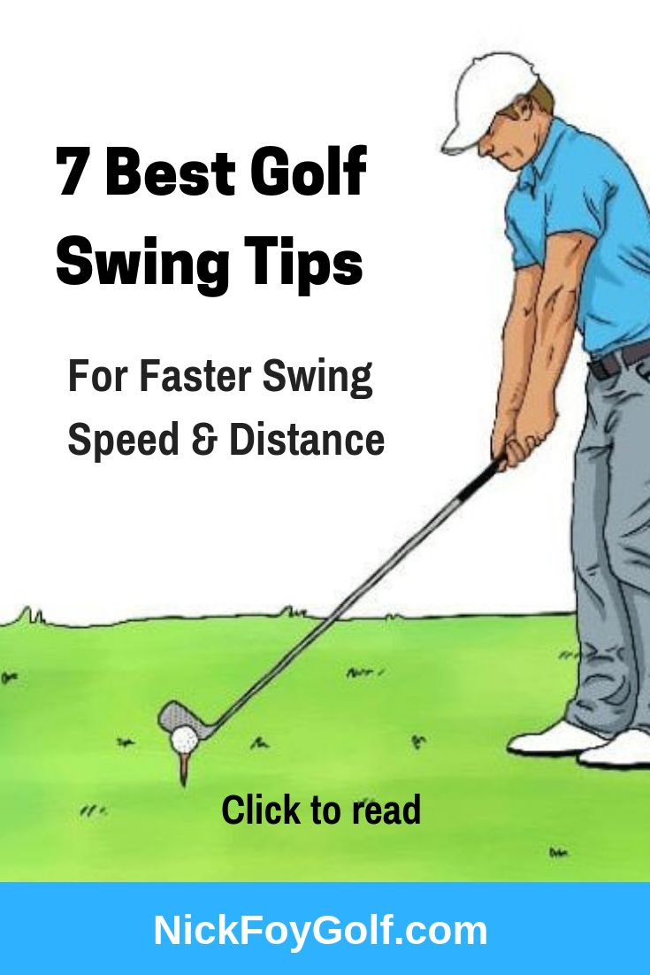 7 Best Swings Images On Pinterest: 7 Best Golf Swing Tips For Distance & Faster Club Speed