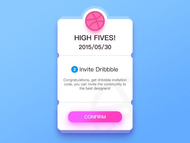 Two Dribbble Invite by ruki - Dribbble