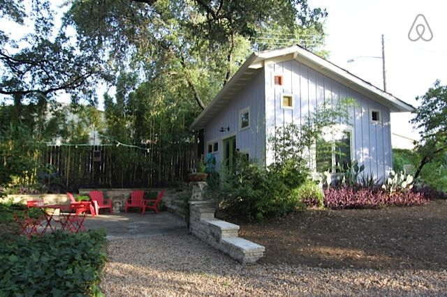 Airbnb: Cozy Casita Near Downtown in SoCo in Austin Ben & Nadja: Cool casita for a couple who wants a fun space for a low price.  One neighborhood south of SoCo.