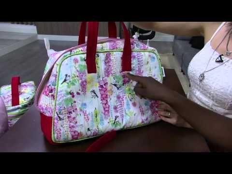 Mulher.com - 15/10/2015 - Bolsa de mão para viagem - Jacqueline Freitas PT1 - YouTube