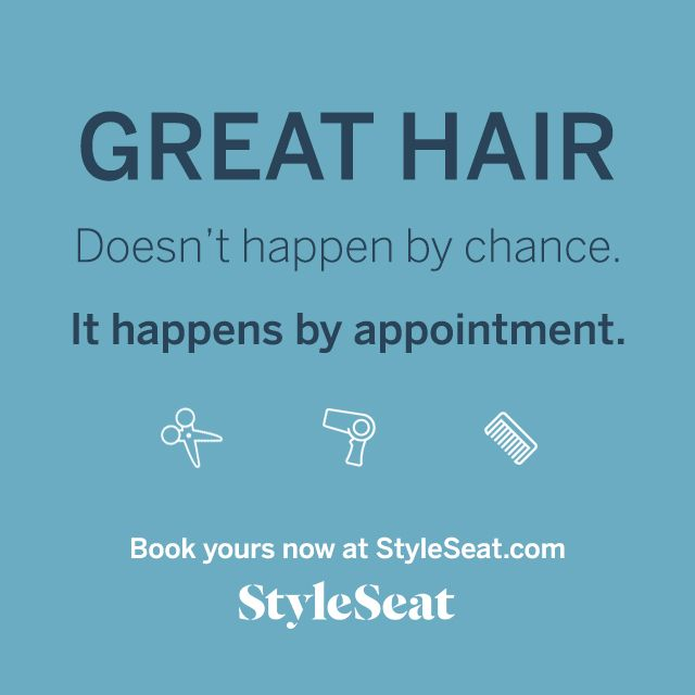 How to book an appointment on styleseat