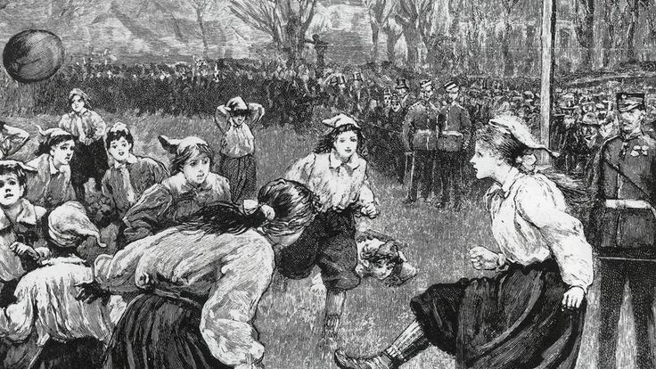 Today marks the 120th anniversary of the first official fixture in women's football. FIFA.com takes a look at how this London encounter helped make history. #women's #soccer #vintage