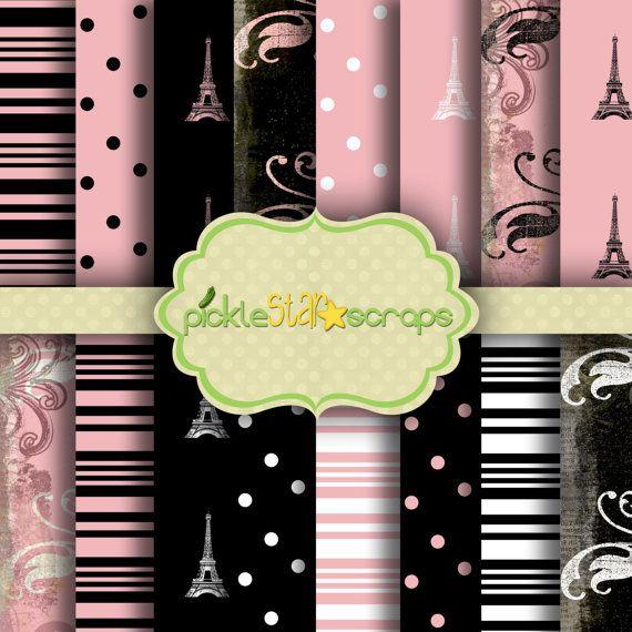 French Quarter Vol2  16 Printable Digital by PickleStarScraps