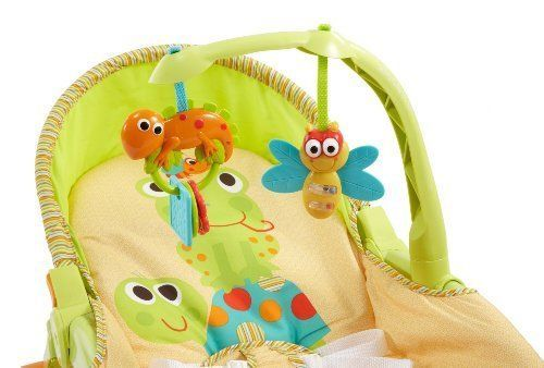 Baby-Bouncer-Baby-Swing-Fisher-Price-Newborn-to-Toddler-Folding-Portable-Rocker