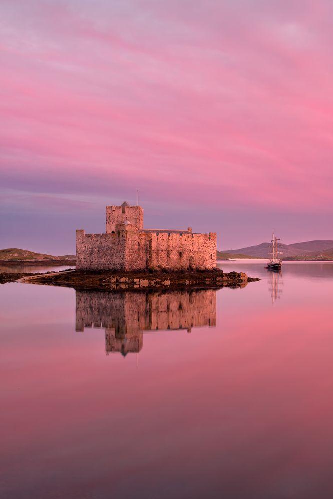 Kisimul Castle on Barra, Outer Hebrides, Scotland.