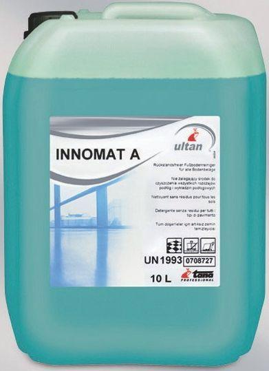 Tana Innomat A este un detergent ideal pentru curatarea automata si manuala a pardoselilor.  Curata cu usurinta rosturile chiar si murdaria incrustata.