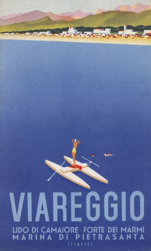 Italian tourism poster