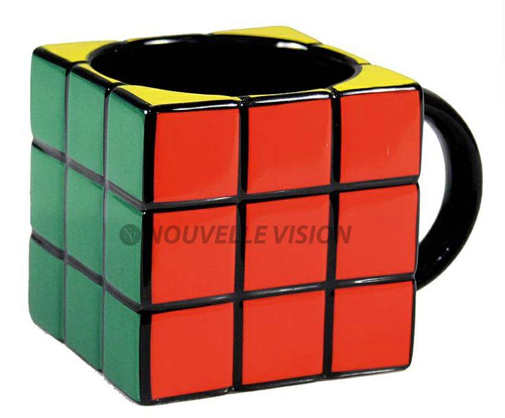 Mugs Rubik's cube! #mug #tasse #cafe #personnalisees #goodies #objets #publicite #ad #visibility #fun #logo #design #communication #publicitaire #bigben #personnalisation #london #sapin #the #winter #hiver #coffee #boisson #chaude #snow #present #cadeau #decoration #hot #drink #breakfast #petit #dejeuner #rubik #cube #jeu #jouet #casse #tete #chinois #tetris