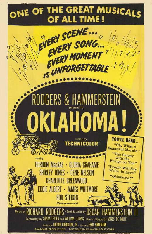 Oklahoma Movie Posters From Movie Poster Shop