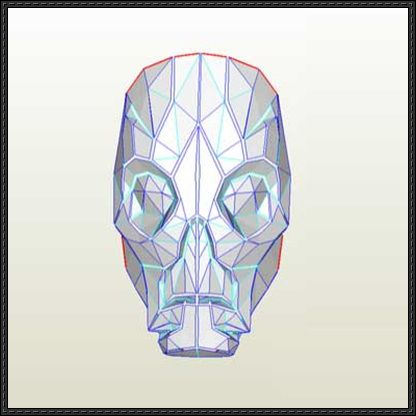 The Elder Scrolls V: Skyrim - Dragon Priest Mask Ver.4 Free Papercraft Download - http://www.papercraftsquare.com/elder-scrolls-v-skyrim-dragon-priest-mask-ver-4-free-papercraft-download.html