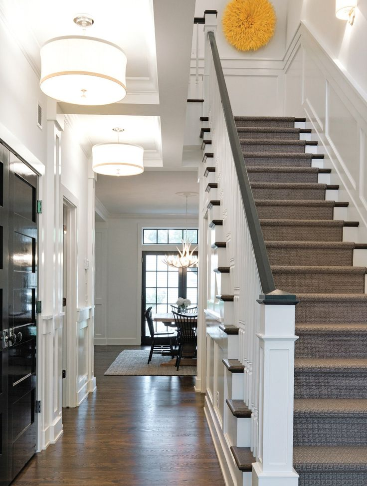 Foyer Stair Runners : Best staircases midwest home magazine images on