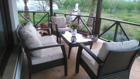 Evimin verandası