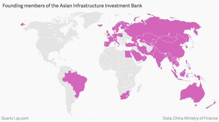 The AIIB's official roster includes many of Washington's closest allies, as well as four of the five permanent members of the United Nation's Security Council, half of the European Union, and all 10 members of the Association of Southeast Asian Nations.