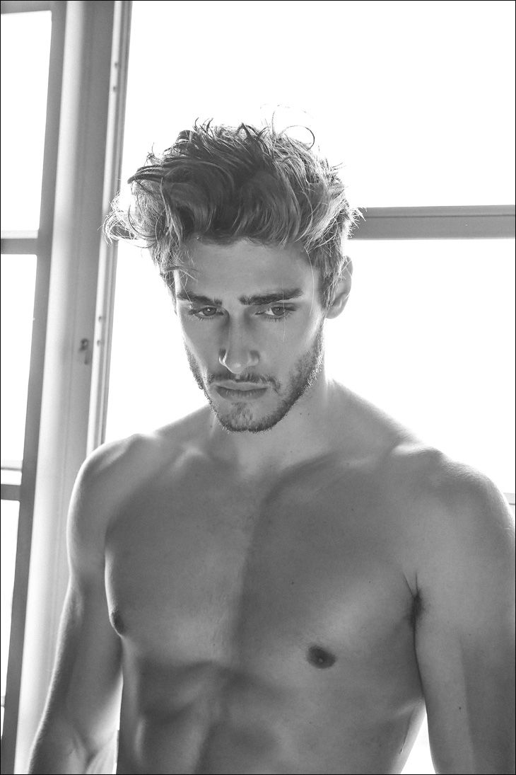 Daniel Bederov at Whilelmina Model Miami, Boom Models Milan, Nevs Models London, New York Model Management NYC, is portrayed exclusively for Male Model Scene by Jake Senfeld