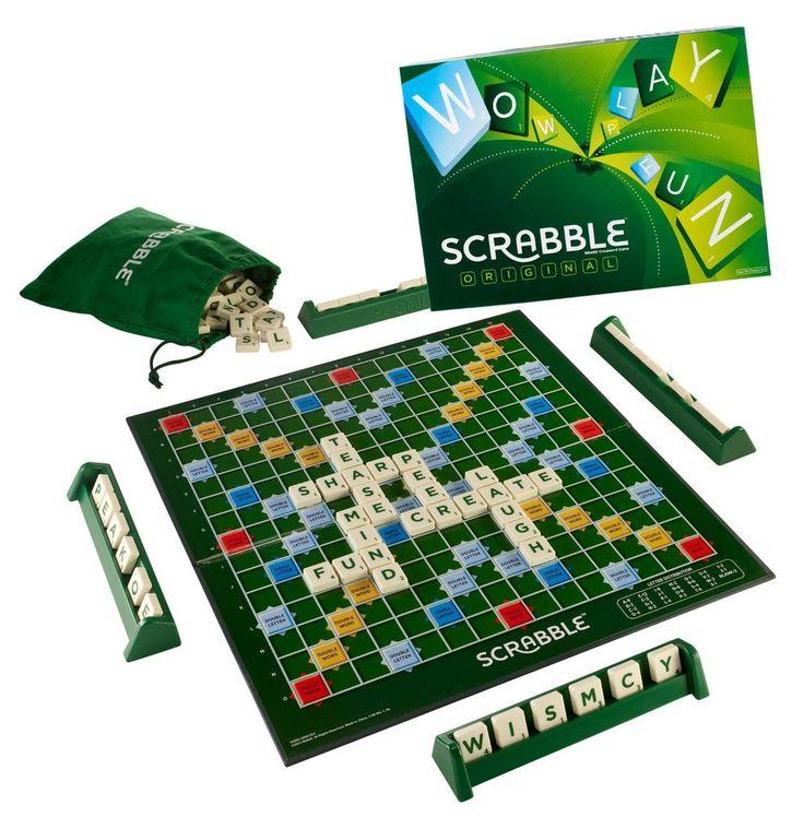 LOWEST EVER AMAZON PRICE Scrabble Original £9.99 Delivered (choose Free Super Saver Del)