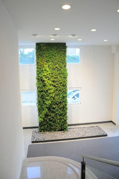 M s de 1000 ideas sobre muros verdes en pinterest - Jardines verticales interiores ...