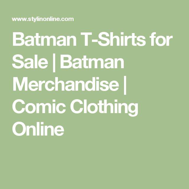 Batman T-Shirts for Sale   Batman Merchandise   Comic Clothing Online