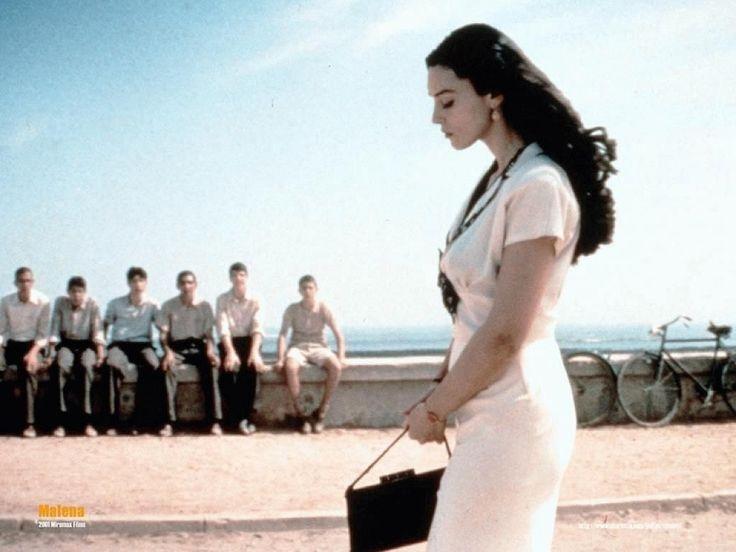 Monica Bellucci in Malèna by Giuseppe Tornatore, 2000