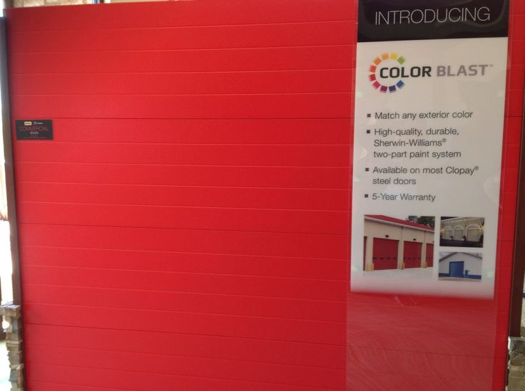 17 best images about color blast garage doors on pinterest for Clopay garage door colors