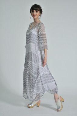 Avian silk dress, Doris slip, Wilsy sling back shoe.