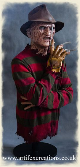 part 2 bust horror pinterest - Freddy Krueger Halloween Decorations