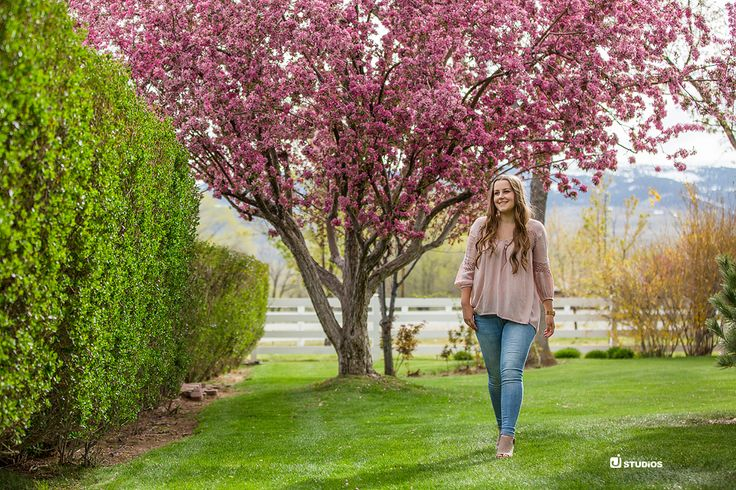 Nothing like those spring colors! Reno senior photography
