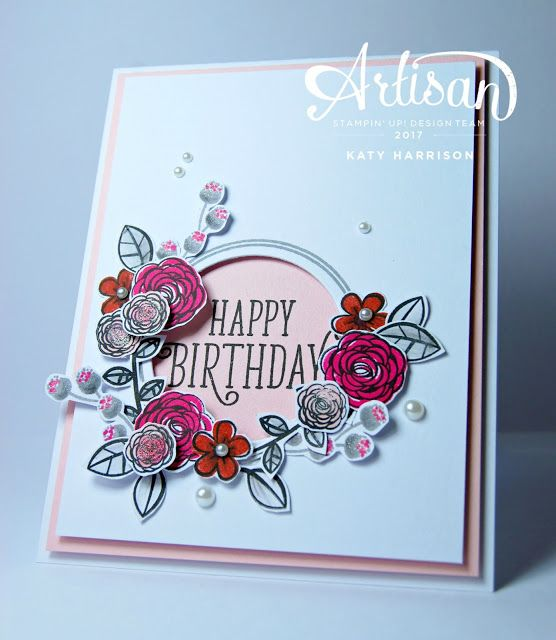 The Stamping Shed: Artisan design team hop ...Happy birthday gorgeous