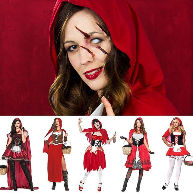 Halloween Schminktipp Horror Rotkappchen Maskworld Rotkappchen Rotkappchen Kostum Halloween Schminktipps