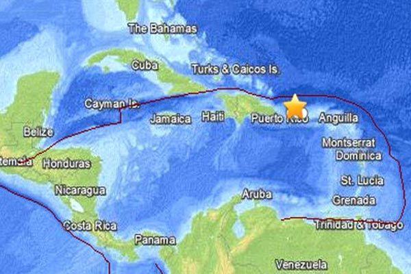 Jak zemljotres pogodio Portoriko, opasnost od tsunamija