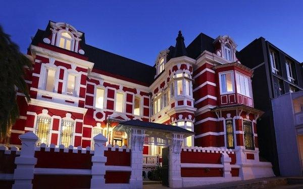 Palacio Astoreca , lujoso Hotel ubicado en los cerros de Valparaiso