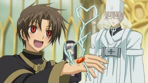 07 Ghost ~Mikhail Teito looks so happy.................
