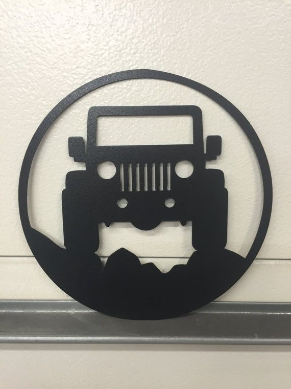 jeep GARAGE SIGN by SCHROCKMETALFX on Etsy