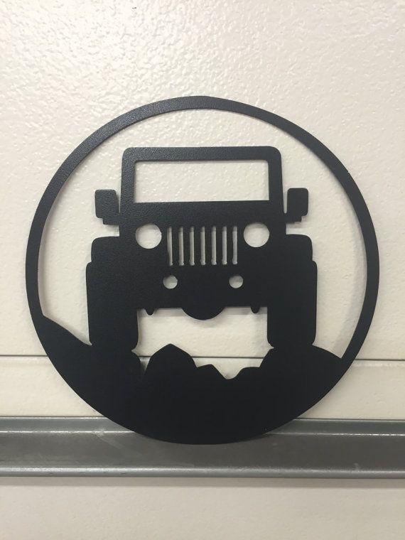 jeep GARAGE SIGN by SCHROCKMETALFX on Etsy