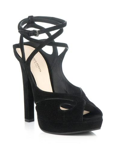 Bottega Veneta - Piped suede sandals