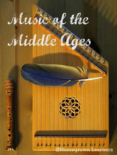 Homegrown Learners - Home - Medieval Music NotebookingPages