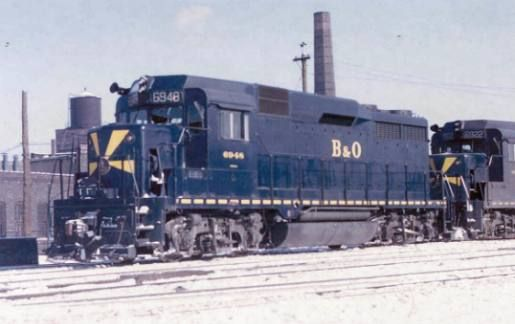 oh baltimore | Baltimore and Ohio Railroad Company Stock 1950's and Picture Postcard