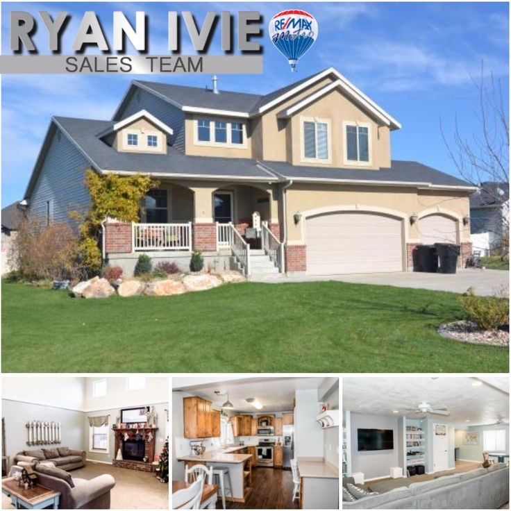 2626 W 2450 N, Clinton  6 Bedrooms | 3.5 Bathrooms | 3,820 Sq Ft | .35 Acres | $389,999  **PRICE REDUCED $10,000***MUST SEE THIS MODERN AND IMMACULATE 2-STORY 3 CAR GARAGE HOME WITH AN EXCELLENT YARD! New SS appliances, knotty alder custom cabinets, laminate wood floors and tile in all baths. Open great room with cozy fireplace with large windows. Beautiful master with separate tub and shower. Fully finished basement and 2 x 50 gallon water heaters. Lots of curb appeal, in a perfect area…
